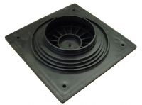 Clark Drain Inspection Chamber Solid Manhole Cover 400mm Square to 220-300mm Dia CD300